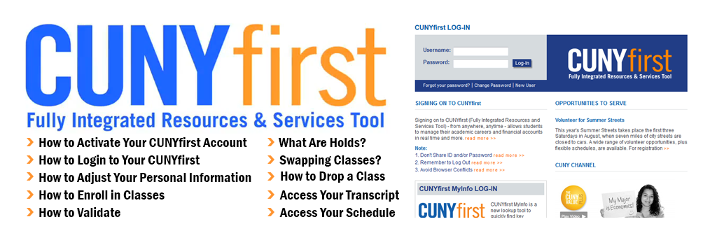CUNYfirst How-to Video